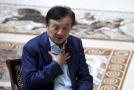 Zakladatel čínské technologické společnosti Huawei Žen Čeng-fej.