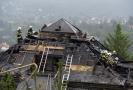 Škoda způsobená požárem někdejší Krejčířovy vily je dvacet milionů.