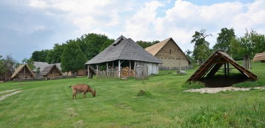 Archeoskanzen Modrá se nachází nedaleko Uherského Hradiště.
