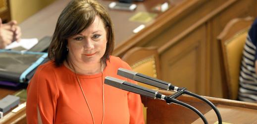 Ministryně financí za ANO Alena Schillerová.