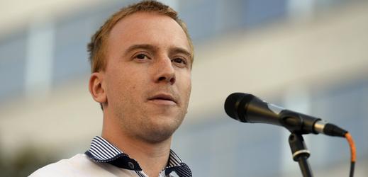 Mikuláš Minář z iniciativy Milion chvilek pro demokracii.