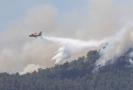 Požár na Gran Canaria.