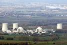 Jaderná elektrárna Biblis v Německu.