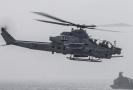 Bojový vrtulník americké armády AH-1Z Viper od firmy Bell.