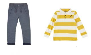 Oblečení pro kluky.