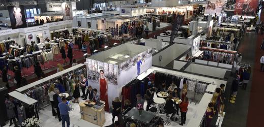 Mezinárodní veletrh módy Styl a Kabo v Brně.
