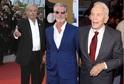 Alain Delon, Pierce Brosnan a Kirk Douglas.