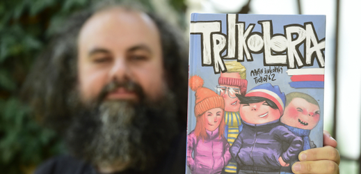 Martin Šinkovský, autor komiksu Trikolora.