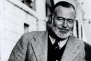 Americký spisovatel Ernest Hemingway.