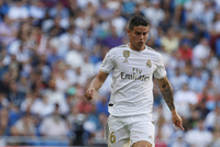 Fotbalista Realu Madrid James Rodriguez.