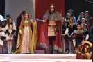 Znojemské historické vinobraní zahajuje noční průvod krále Jana Lucemburského.