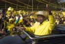 Prezident Ugandy Yoweri Museveni.
