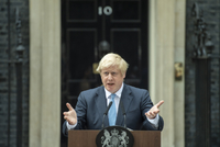 Britský premiér Boris Johnson.