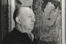 Jaroslav Veris s obrazem Sláva.