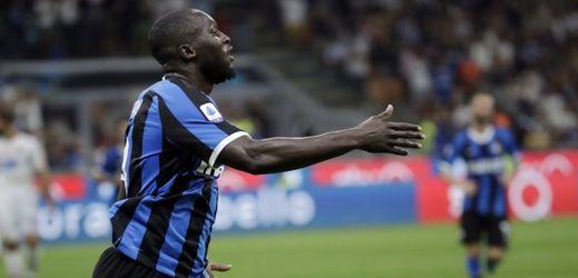 Fotbalista Interu Milán Romelu Lukaku.