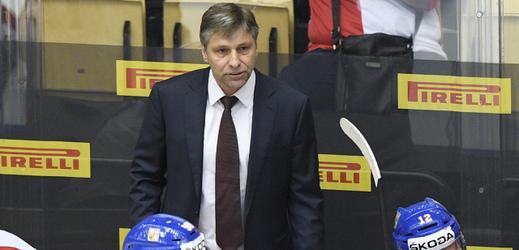 Josef Jandač jako trenér české reprezentace.
