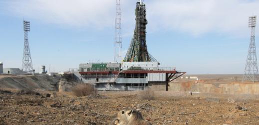 Kosmodrom Bajkonur.