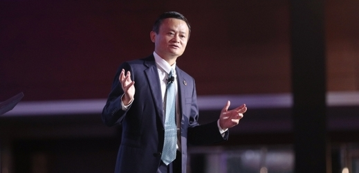 Čínský podnikatel Jack Ma.