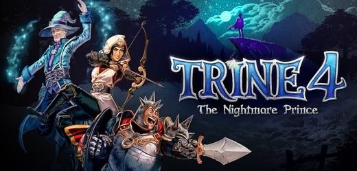 Pokračování série Trine se připomíná novými záběry z hraní, vyjde za měsíc