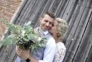 Peter Pecha s novomanželkou Kateřinou.