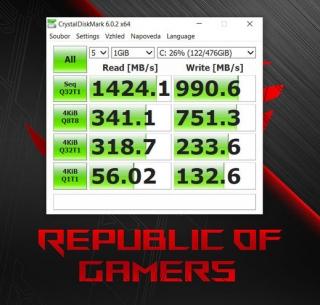 Test: Asus ROG Zephyrus G - kompaktní a výkonný herní stroj poháněný Ryzen a GeForce