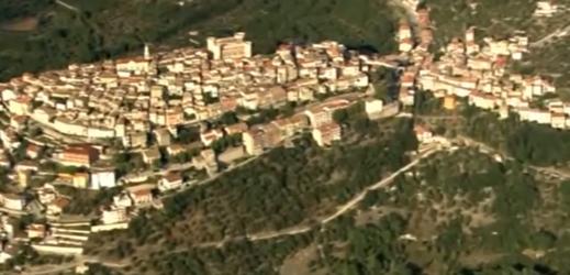 Castel San Vincenzo, Molise.
