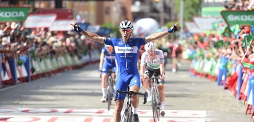 Štybar útočil marně, rovinatou etapu vyhrál Gilbert.