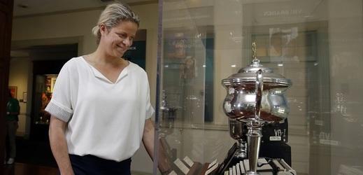 Kim Clijstersová v 36 letech pomýšlí na návrat na kurty.