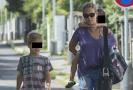 Lucie Vondráčková se svými syny.