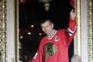 Stan Mikita v dresu Chicaga Blackhawks.