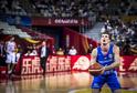 Český kapitán českých basketbalistů Pavel Pumprla.