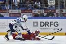 Hokejisté Komety Brno porazili ve 2. kole extraligy Třinec 2:1 po samostatných nájezdech a získali první body v nové sezoně.