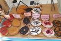 Náměstí ovládly donuty, wafle, makronky a další sladkosti.
