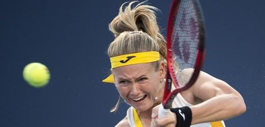 Tenistka Marie Bouzková postoupila na turnaji v Kuang-čou přes první nasazenou Elinu Svitolinovou do čtvrtfinále.