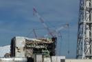 Jaderná elektrárna Fukušima po nehodě.