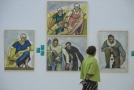 Výstava obrazů malíře Gebauera.