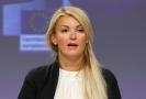 Mluvčí EK Mina Andreevová.