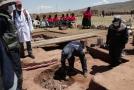 Archeologové v Bolívii.
