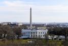 Washingtonský obelisk.