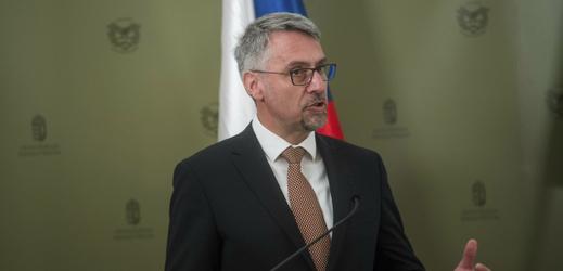 Ministr obrany Lubomír Metnar.