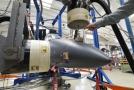 Výroba prototypu letadla L-39NG.