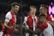 Sešívaná radost v derby, Slavia vyloupila Letnou