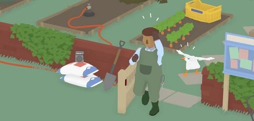 Vyšla hra s otravnou husou v hlavní roli pro počítače a Switch