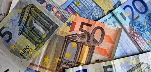 Euro, měna EU.