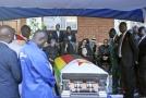 Mugabeho pohřeb.