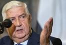 Syrský ministr zahraničí Valíd Mualim.