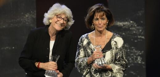 Cenu EBU a IMZ za celoživotní dílo obdržely producentky Gabrielle Babin Gugenheimová (vlevo) a Anca-Monica Pandeleaová (vpravo).