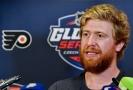 Jako další postupný krok kariéry vnímá hokejový útočník Jakub Voráček možnost zahrát si zápas NHL před českým publikem.