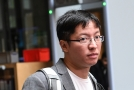 Hongkongský aktivista Wong Yik Mo.
