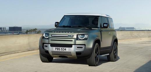 Nový Land Rover Defender představen v Praze.